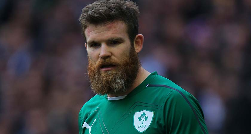 Irish rugby star Gordon D'Arcy