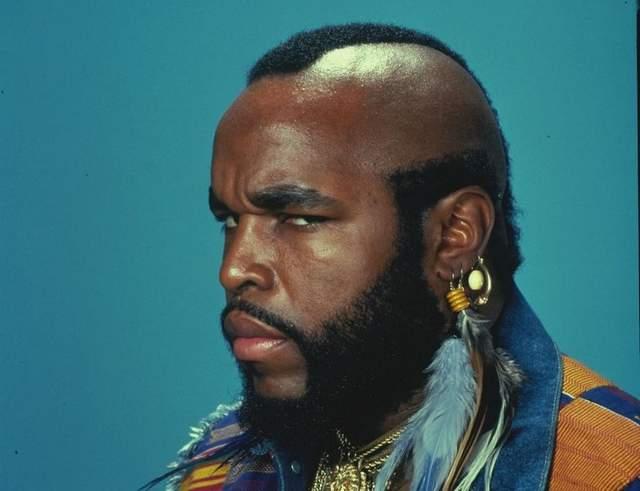 Mr. T's beard